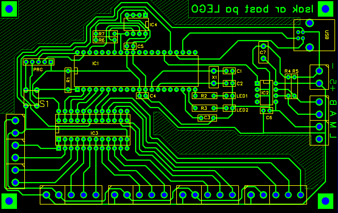 PCB - ServoCentralCard V1.2
